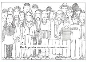 The Imposter artwork - Monday Show Cast_