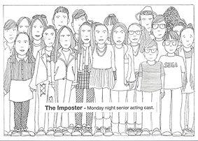The Imposter artwork - Monday Show Cast_