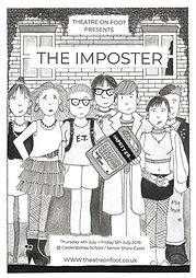 The Imposter artwork - front second cove
