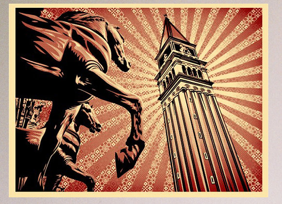SHEPARD FAIREY (OBEY), St. Mark's Square