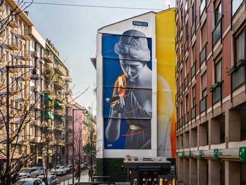 Art Wall   |   L'ARALDO per Fineco Bank