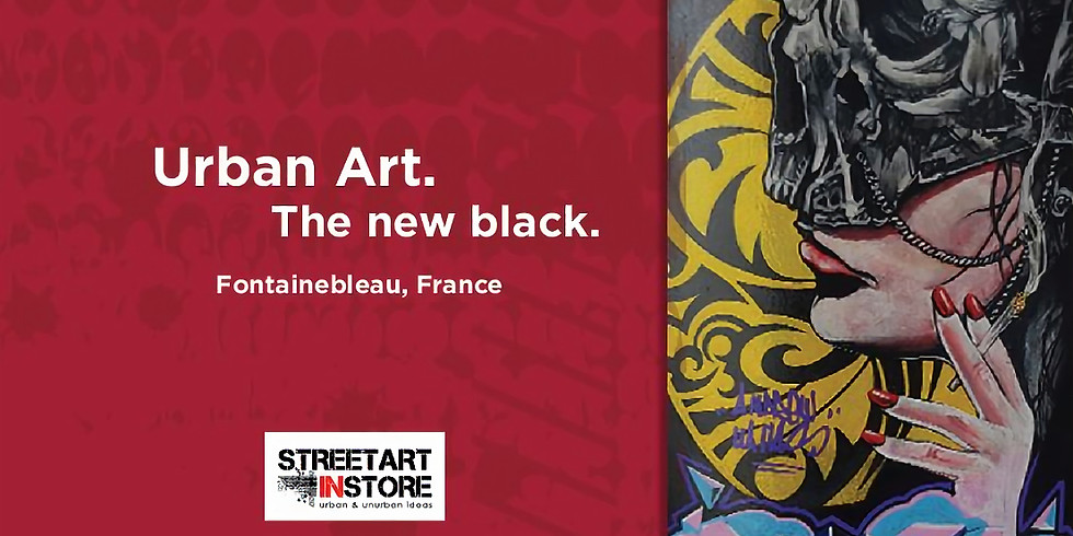 URBAN ART. The new black. | Fontainebleau, France