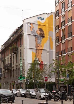 Murales FinecoBank