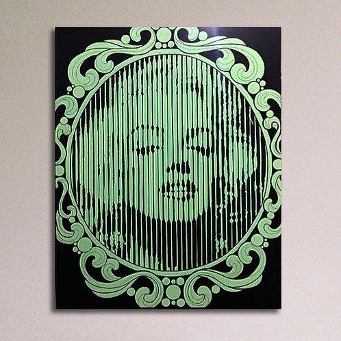 KIM, Marilyn allo specchio