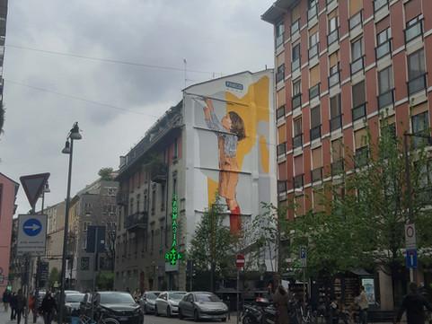 Art Wall   |   VERSO IL FUTURO per Fineco Bank