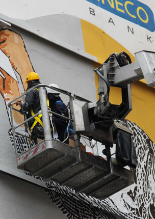 Murales Street Art In Store