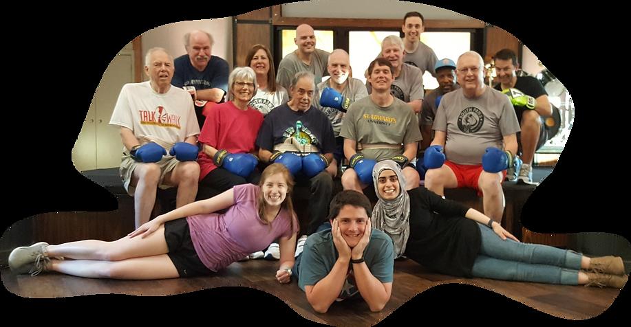Tribe wellness group photo 2