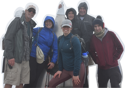 PEAK Performers group photo at the on a successful hike