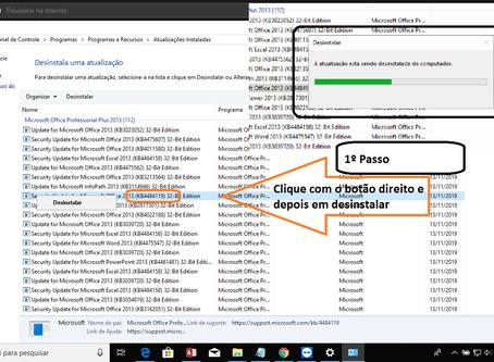 Error 3340 | Consulta Corrompida | Atualização do Windows