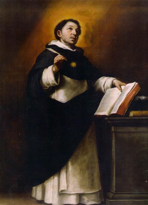 And this is how it really was (Bartolomé Esteban Murillo, Santo Tomás de Aquino)