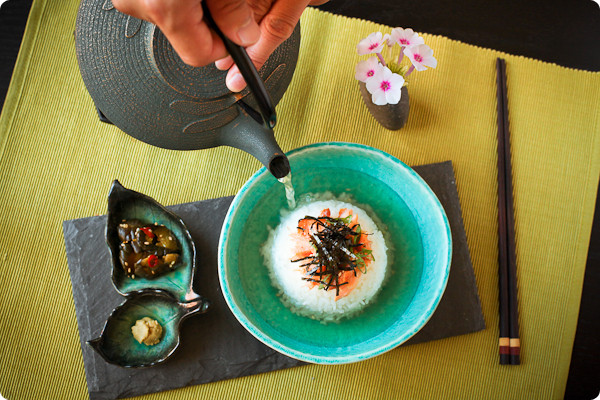 אושזוקה - אילוסטרציה, אבל טובה! (www.eataduckimust.com/classic-ochazuke)