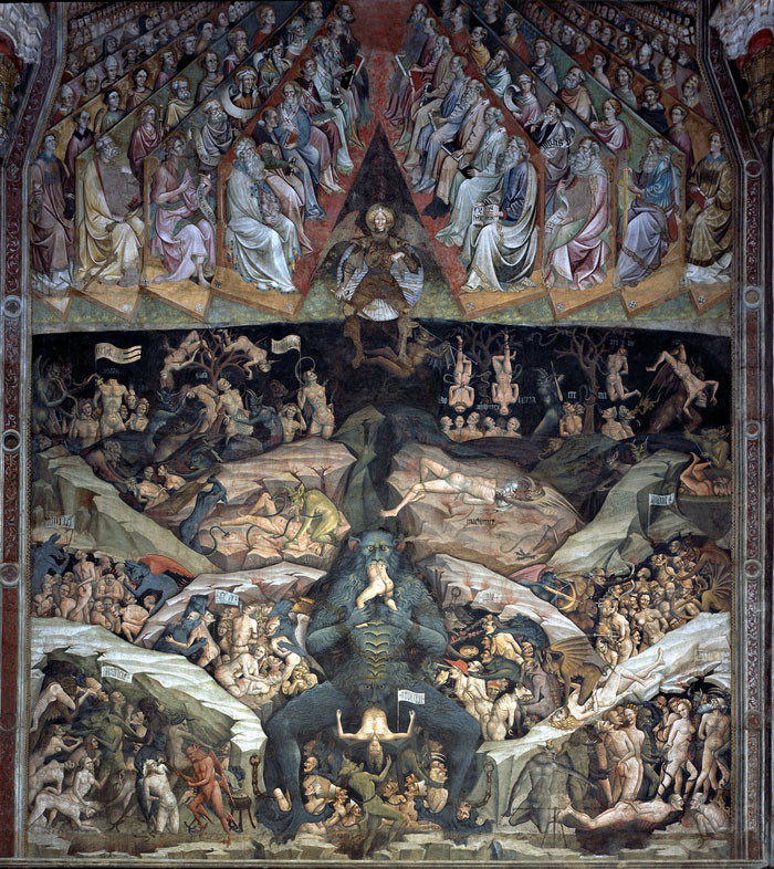 This is how I thought it will look like (Giovanni da Modena, The Inferno)