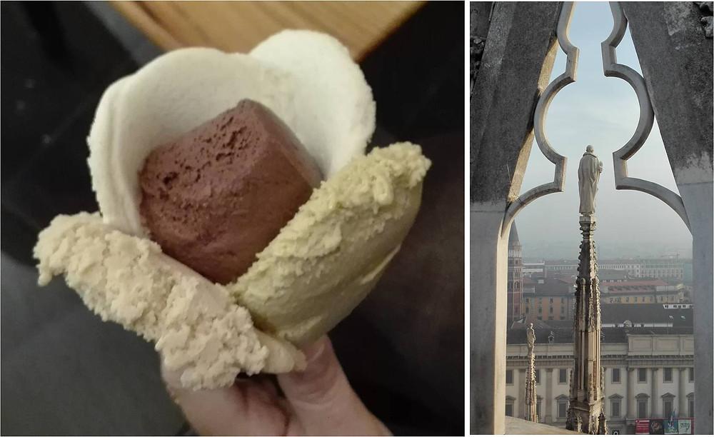 קדוש בודד חושב על גלידה