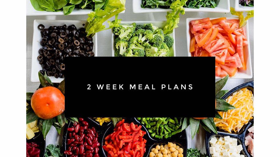 2-WEEK MEAL PLANS