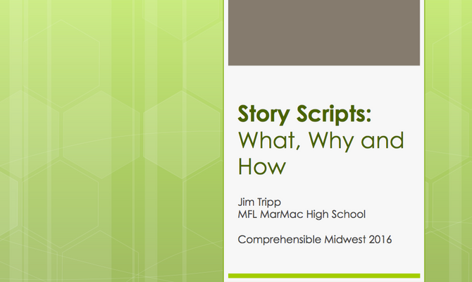 Story Scripts: What, Why, How
