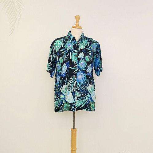 Hawaiian Print Aloha Shirt