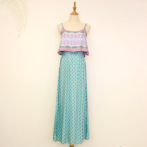 Summer Dress - Pink & Mint