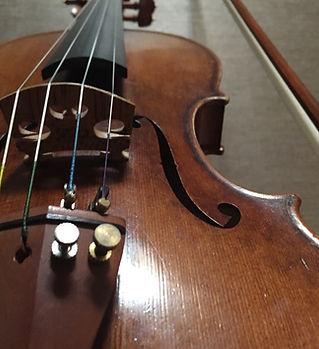 Quatre cordes pour violon