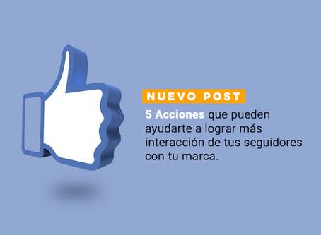 5 acciones que te ayudarán a incrementar la interacción en Facebook e Instagram