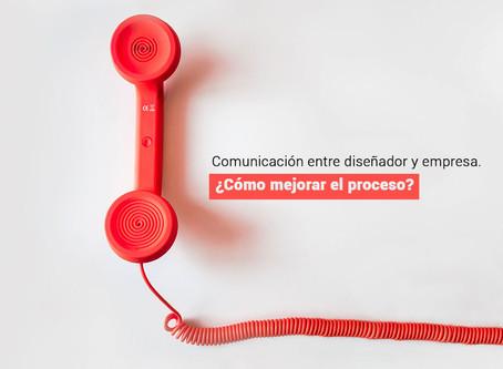 Comunicación entre diseñador y empresa. ¿Cómo mejorar el proceso?
