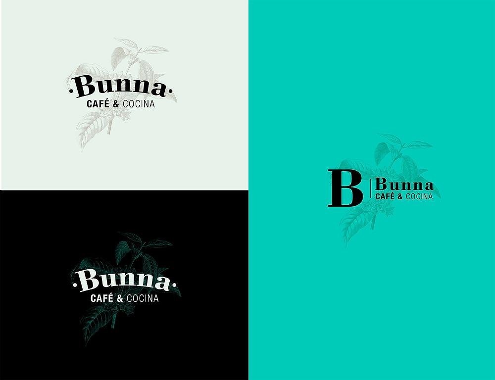 Logotipo realizado para Bunna Café