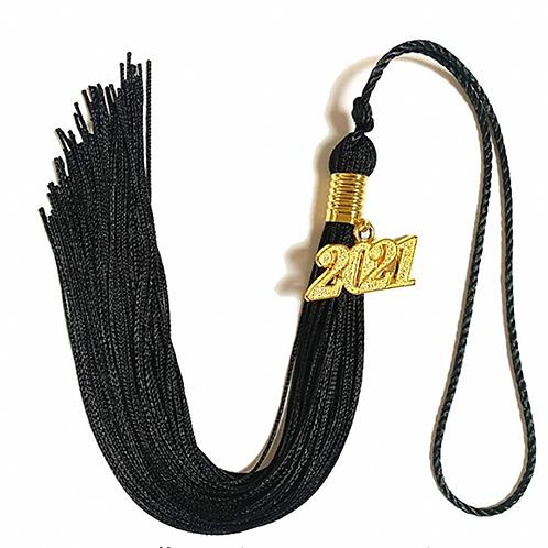 Black Tassel | Gland de remise de diplôme noir