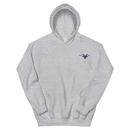 Grey Unisex Hoodie 1