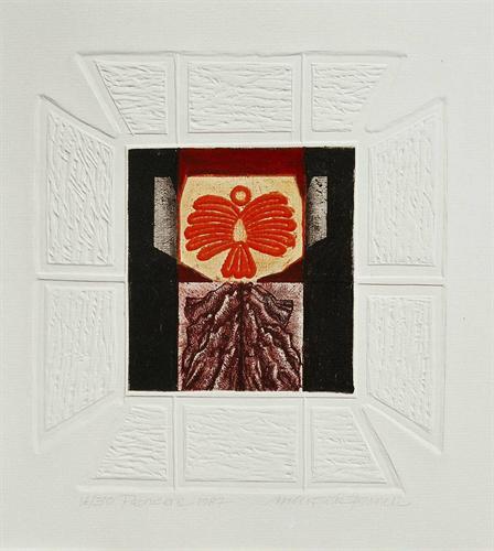 08-Pencere 1987 27x26 cm