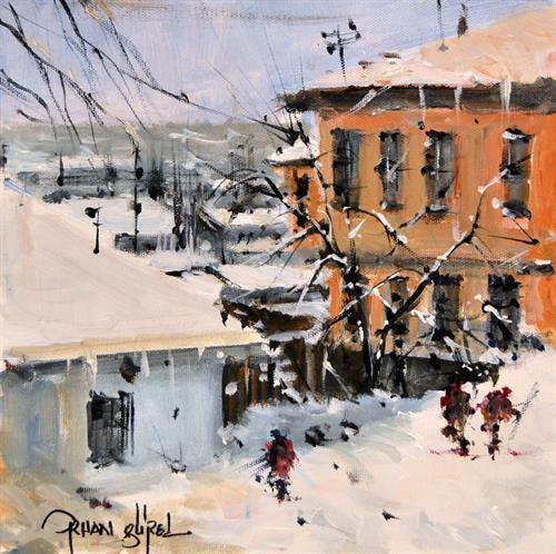 118-Orhan Gürel 25x25 cm