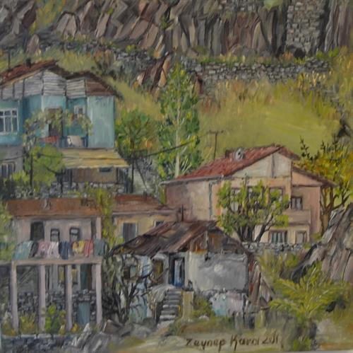 141-Zeynep Kara 25x25 cm
