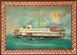 14-50x70 cm Ortaköy Vapuru