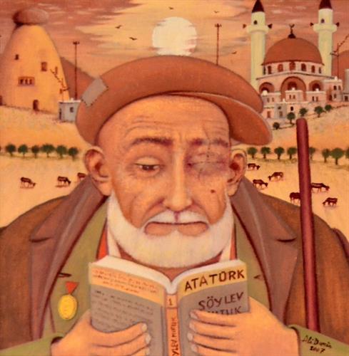 09-Ali Demir 30x30 cm