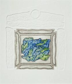 19-Güneşin Dört Kolu 2001 29x29 cm