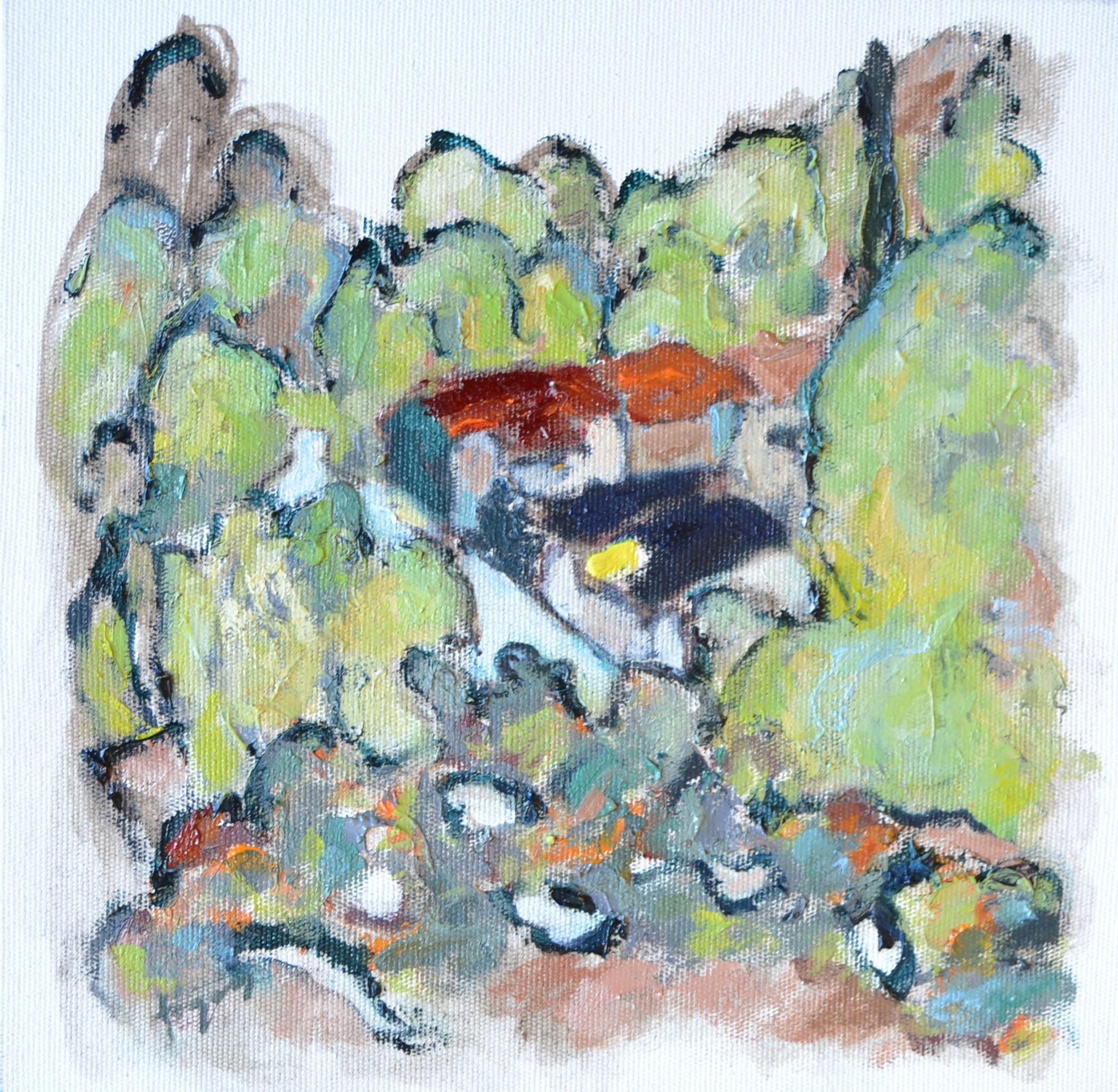 98-Figen Savaş 25x25 cm