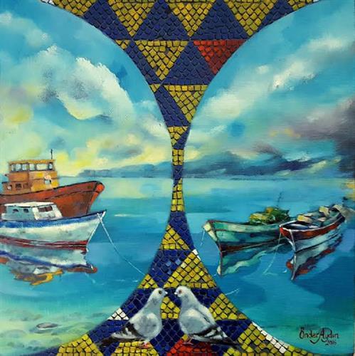 161-Önder Aydın 25x25 cm