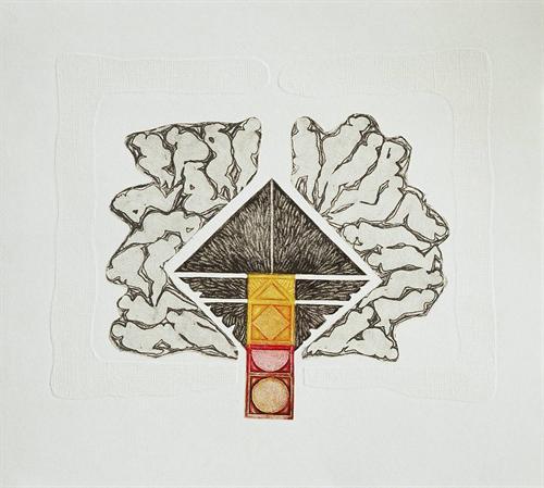 22-Ulu Ağaç 1999 45x55,5 cm