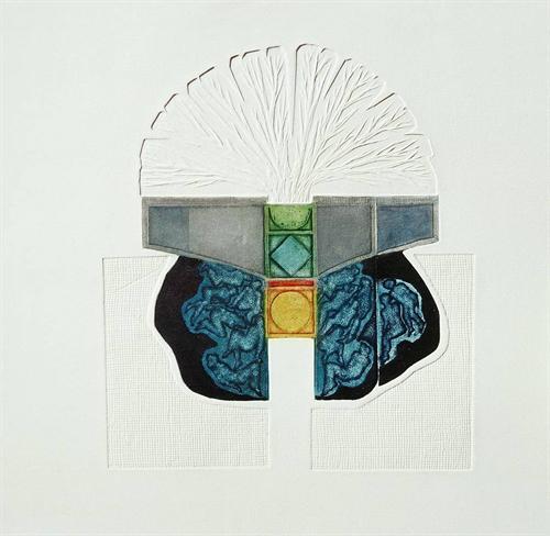 15-Meşe Ağacının Gölgesi 2000 46,5x40 cm