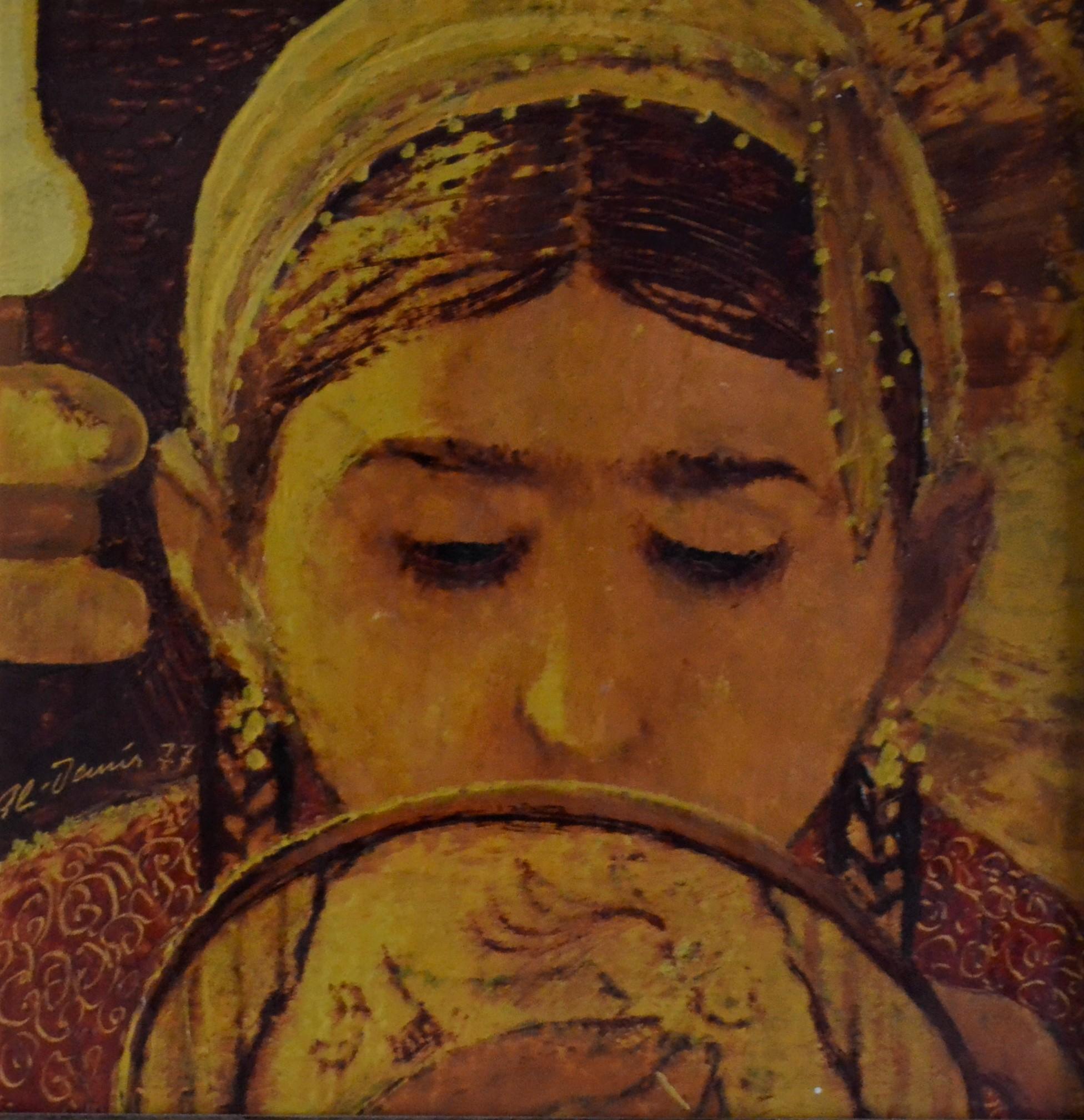 002- Ali Demir 20x20 cm