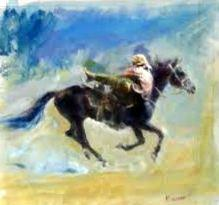 11-Bolatbek Mambetov 25x25 cm