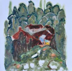 96-Figen Savaş 25x25 cm