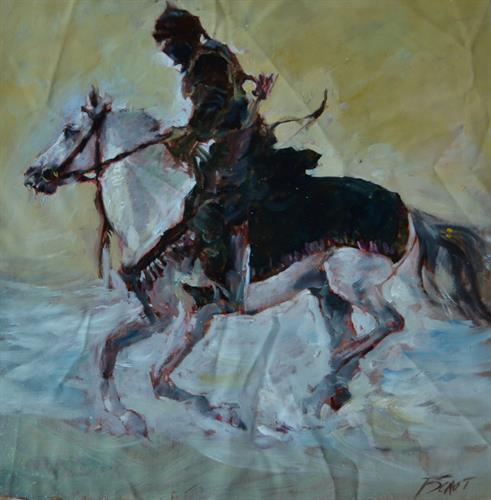 07-Bolotbek Mambetov 25x25 cm