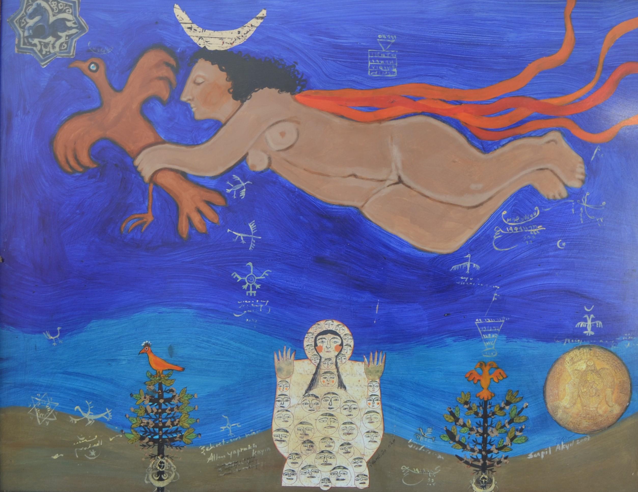 16-Göğe Çıkan Ay Tanrıçası