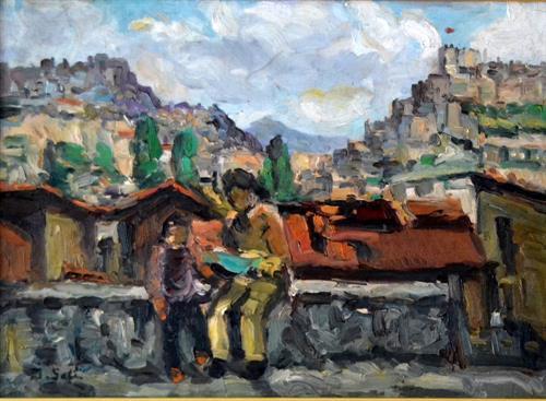 11-İbrahim Safi 33x45 cm