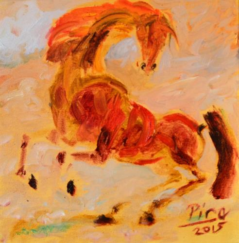 99-Muharrem Pire 25x25 cm