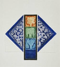 07-Üçlü Portre 1983 30x34 cm