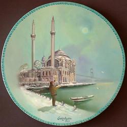 23- çap 25 cm Ortaköy Cami