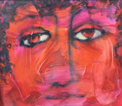 29-Kırmızı Portre I