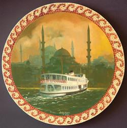 16-çap 35cm Yeni Cami ve İstanbul