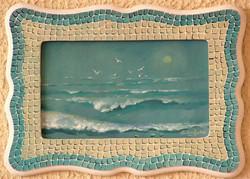 12-16x22 cm Martılar ve Deniz