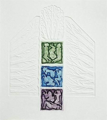 03-Nar Ağacı 1993 47,5x37 cm
